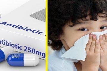 antibiotik memburukkan selesema