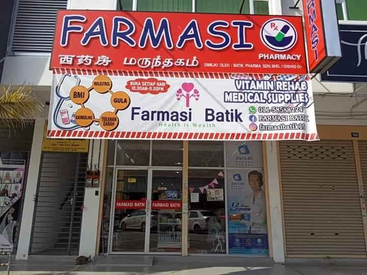 farmasi batik sg petani