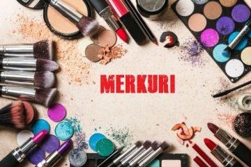 merkuri dalam kosmetik