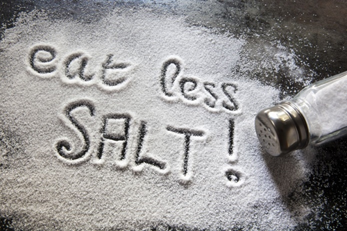 kurangkan garam
