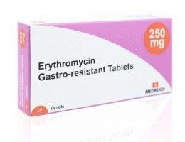 ubat erythromycin