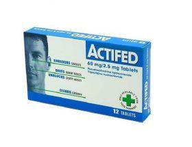pil actifed